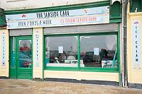 The Seaside Cafe New Brighton Wallasey Merseyside 4th july 2020