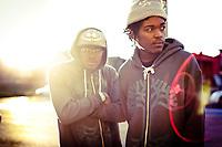 Oakland based rappers Main Attrakionz.
