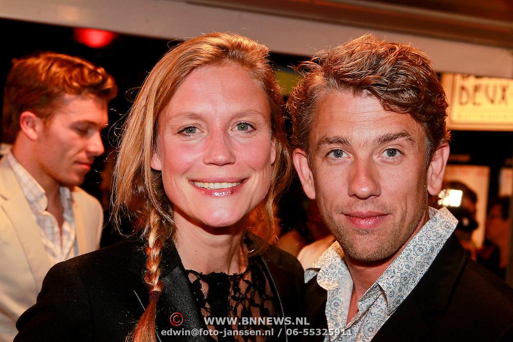 NLD/Den Haag/20110406 - Premiere Alle Tijden, Sophie Hilbrand en partner Waldemar Torenstra