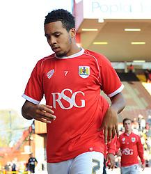 Bristol City's Korey Smith before kick-off. - Photo mandatory by-line: Nizaam Jones - Mobile: 07583 3878221 - 22/11/2014 - Sport - Football - Bristol - Ashton Gate - Bristol City v Preston North End - Sport