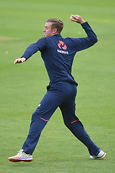 England's Jake Ball during the nets session at Cardiff Wales Stadium.