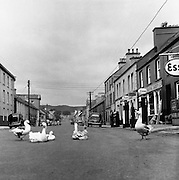 Maint St. Glenties, Co Donegal.02/04/1957..