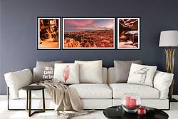 Southwest Fine Art Print Display