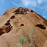 World Heritage Site, Uluru-Kata Tjuta National Parl is sacred to the Anangu, the Arboriginal People of the area.
