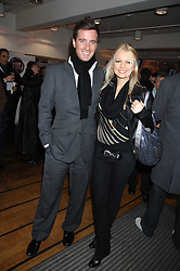 HANNAH SANDLING and OLIVER FELSTEAD at a party to celebrate the launch of the new Fiat 500 car held at the London Eye, Westminster Bridge Road, London on 21st January 2008.<br /><br />NON EXCLUSIVE - WORLD RIGHTS (EMBARGOED FOR PUBLICATION IN UK MAGAZINES UNTIL 1 MONTH AFTER CREATE DATE AND TIME) www.donfeatures.com  +44 (0) 7092 235465