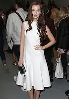 Olivia Grant, London Fashion Week SS17 - Jasper Conran, BFC Catwalk Show Space, London UK, 17 September 2016