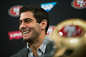 San Francisco 49ers – Jimmy Garoppolo Press Conference