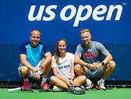 Team Kasatkina during practice at the 2018 US Open Grand Slam tennis tournament, New York, USA, August 22th 2018, Photo Rob Prange / SpainProSportsImages / DPPI / ProSportsImages / DPPI