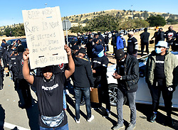 South Africa - Johannesburg - 21 June 2020 - Men & Boys car drive participants gathered at the FNB stadium to march against gender-based violence, the march proceeded to the Union Building in Pretoria.<br /> Picture: Itumeleng English/African News Agency(ANA)