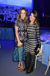 Left to right, NATALIE PINKHAM and KRISTINA VANDERHEYDEN at the SeriousFun Children's Network London Gala held at The Roundhouse, Chalk Farm Road, London on 3rd November 2016.