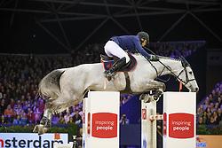 Dubbeldam Jeroen, (NED), Carusso LS La Silla<br /> Anemone Horse Trucks Grand Prix of Amsterdam<br /> Jumping Amsterdam 2016<br /> © Hippo Foto - Dirk Caremans<br /> 31/01/16