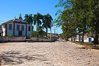 old village of tiradente in minas gerais state brazil