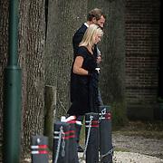 NLD/Lage Vuursche/20130816 - Uitvaart prins Friso, Prinses Maria Carolina Christina en partner Alex Brenninkmeijer