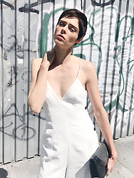 """Coco Rocha releases a photo on Twitter with the following caption: """"""""Hot time, summer in the city. ☀️"""""""". Photo Credit: Twitter *** No USA Distribution *** For Editorial Use Only *** Not to be Published in Books or Photo Books ***  Please note: Fees charged by the agency are for the agency's services only, and do not, nor are they intended to, convey to the user any ownership of Copyright or License in the material. The agency does not claim any ownership including but not limited to Copyright or License in the attached material. By publishing this material you expressly agree to indemnify and to hold the agency and its directors, shareholders and employees harmless from any loss, claims, damages, demands, expenses (including legal fees), or any causes of action or allegation against the agency arising out of or connected in any way with publication of the material."""