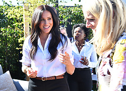 The Duchess of Sussex launches the Smart Works capsule collection at John Lewis in Oxford Street, London.