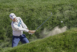 October 21, 2017 - Seogwipo, Jeju Island, South Korea - Nick Taylor of Canada putt action on the 10th bunker during an PGA TOUR CJ CUP NINE BRIDGE DAY 3 at Nine Bridge CC in Jeju Island, South Korea. (Credit Image: © Ryu Seung Il via ZUMA Wire)