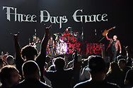 Three Days Grace performs Feb. 25, 2019, at Madison Square Garden in New York City.