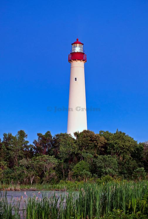 Cape May lighthouse, Cape May,  New Jerey, NJ, USA