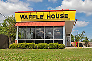 Waffle House in Metairie on Airline Highway closed temporaliry due to the  coronavirus pandemic.