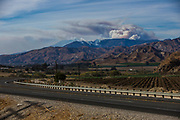 Smoke from the Thomas Fire is seen from Fillmore, California, December 9, 2017. (Photo by Jeremy Hogan) ©2017 All rights reserved