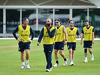 Cricket - 2019 ICC Cricket World Cup - pre-Final practice & press conferences<br /> <br /> England's Moeen Ali during pre-Final practice, at Lords.<br /> <br /> COLORSPORT/ASHLEY WESTERN