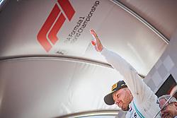30.06.2019, Red Bull Ring, Spielberg, AUT, FIA, Formel 1, Grosser Preis von Österreich, Siegerehrung, im Bild 3. Platz Valtteri Bottas (FIN, Mercedes) // 3nd placed Finnish Formula One driver Valtteri Bottas of Mercedes during the Winner ceremony for the Austrian FIA Formula One Grand Prix at the Red Bull Ring in Spielberg, Austria on 2019/06/30. EXPA Pictures © 2019, PhotoCredit: EXPA/ Dominik Angerer