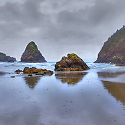 Whaleshead Low Tide - Oregon Coast - HDR