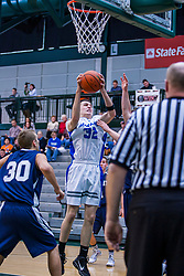 22 January 2011: 100th McLean County Tournament.  Third Place -Blue Ridge Knights v Fieldcrest Knights