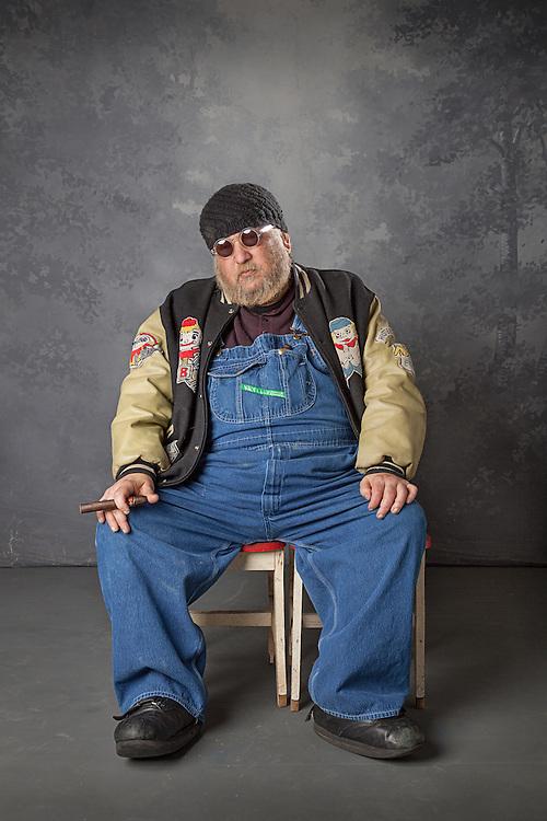 Famous Chicago Portrait Photographer Marc Hauser photographed in his studio, 2013.