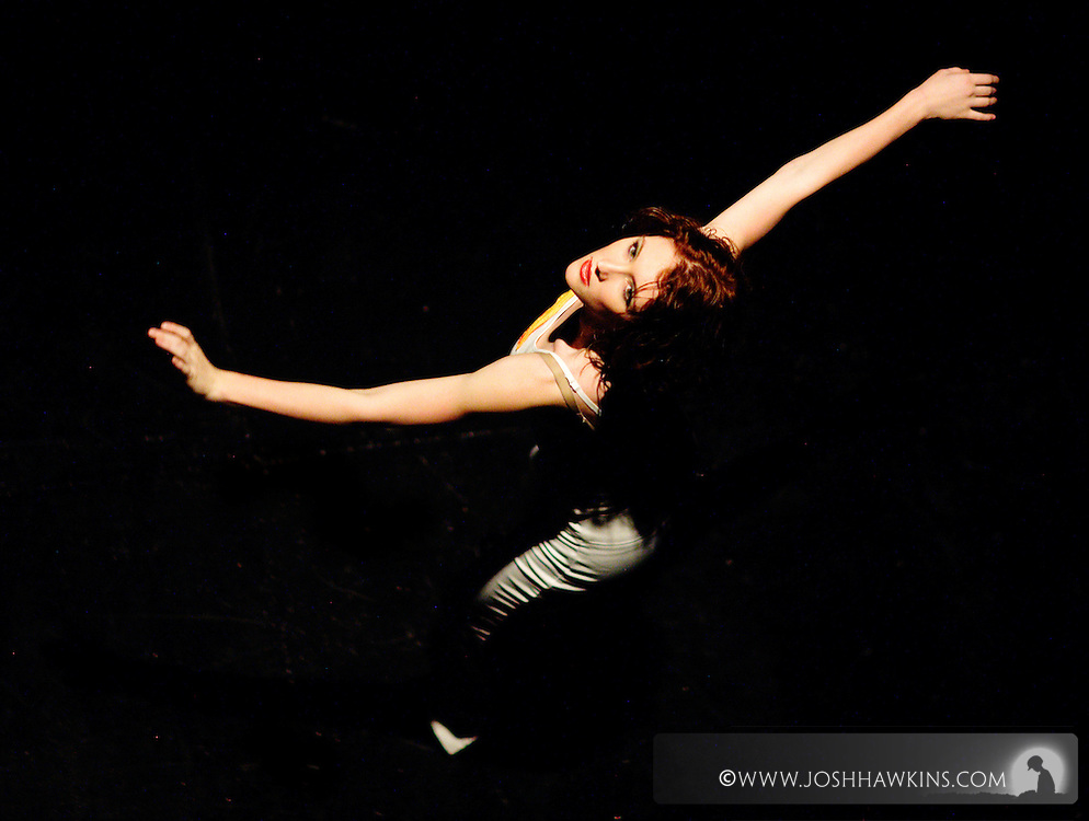 """Chicago Tap Theatre's """"Tidings of Tap"""" performed at UIC Theatre in Chicago, IL on Dec 9-11, 2011..Candlelight, choreography by Rich Ashworth, pictured dancer(s): Sam Nolte"""