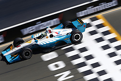 September 15, 2018 - Sonoma, California, United Stated - PATRICIO O'WARD (8) of Mexico takes to the track to practice for the Indycar Grand Prix of Sonoma at Sonoma Raceway in Sonoma, California. (Credit Image: © Justin R. Noe Asp Inc/ASP via ZUMA Wire)