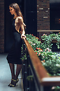 Fashion and lifestyle photo shoot at The Broome Hotel in SoHo