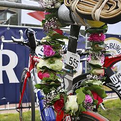 Glücksburg, 02.08.15, Sport, Triathlon, 14. OstseeMan, 2015 : Rad von Thijs Koelen (NED, Triathlon Club Twente, #555), 2.Platz Einzel (08:44:48)<br /> <br /> Foto © P-I-X.org *** Foto ist honorarpflichtig! *** Auf Anfrage in hoeherer Qualitaet/Aufloesung. Belegexemplar erbeten. Veroeffentlichung ausschliesslich fuer journalistisch-publizistische Zwecke. For editorial use only.