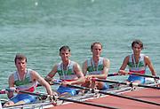 Lucerne, Switzerland. 1995 FISA WC III, Lake Rottsee, Lucerne,<br /> ITA LM4X<br /> [Mandatory Credit. Peter SPURRIER/Intersport Images]<br /> <br /> Image scanned from Colour Negative