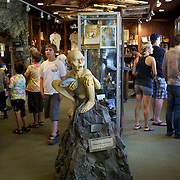 Inside shot at Weta Cave. Wellington, New Zealand, 2011, Photo Tim Clayton.
