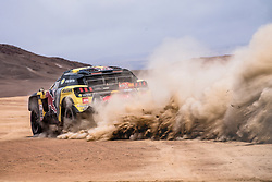 Sebastien Loeb (FRA) of PH Sport races during stage 4 of Rally Dakar 2019 from Arequipa to Tacna, Peru on January 10, 2019. // Flavien Duhamel/Red Bull Content Pool // AP-1Y3A5Z8392111 // Usage for editorial use only // Please go to www.redbullcontentpool.com for further information. //