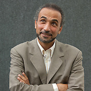 EDINBURGH, SCOTLAND - AUGUST11. AuthorTariq Ramadan poses during a portrait session held at Edinburgh Book Festival on August 11, 2007  in Edinburgh, Scotland. HOW TO BUY THIS PICTURE: please contact us via e-mail at sales@xianpix.com or call our offices in Milan at (+39) 02 400 47313 or London   +44 (0)207 1939846 for prices and terms of copyright.
