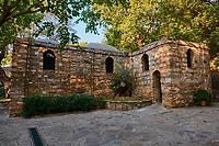 Turquie, province d'Izmir, ville de Selcuk, maison de la Vierge Marie // Turkey, Izmir province, Selcuk city, house of Virgin Mary
