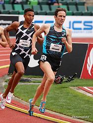 USATF Grand Prix track and field meet<br /> April 24, 2021 Eugene, Oregon, USA<br /> mens 1500, asics