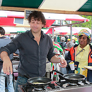 NLD/Amsterdam/20130701 - Keti Koti Ontbijt 2013 op het Leidse Plein, Bart Barnas