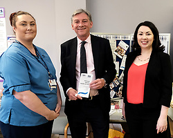 "Scottish Labour leader Richard Leonard and Health spokesperson Monica Lennon met with midwives in NHS Lanarkshire, ahead of a Scottish Labour debate which calls on the SNP Government to invest an additional £10 million for the implementation of Best Start and to investigate claims that midwives are not being given sufficient resources to do their jobs.<br /> <br /> Scottish Labour will use parliamentary time this week to call on the SNP Government to investigate reports that midwives do not have enough resources to do their jobs safely.<br /> <br /> Concerns have been raised in an open letter by midwives in NHS Lothian, which claim they do not have enough computers, equipment and pool cars.<br /> <br /> Scottish Labour have also called for an additional £10 million to be allocated towards the implementation of the Best Start recommendations, to ensure that midwives are given adequate time, training and resources.<br /> <br /> Scottish Labour Health Spokesperson Monica Lennon said:<br /> <br /> ""Midwives play a crucial role in caring for women and babies. The best way of recognising their contribution to our NHS is by making sure they have enough resources to do their jobs safely.<br /> <br /> ""That's why Scottish Labour is calling on the SNP Government to investigate reports about a lack of equipment and resources, and to provide an additional £10 million towards the implementation of the Best Start recommendations.<br /> <br /> ""The Health Secretary must listen to the concerns of midwives and take urgent action to address the workforce crisis.""<br /> <br /> Pictured: Richard Leonard and Monica Lennon chat to midwife Elaine Daly<br /> <br /> Alex Todd 