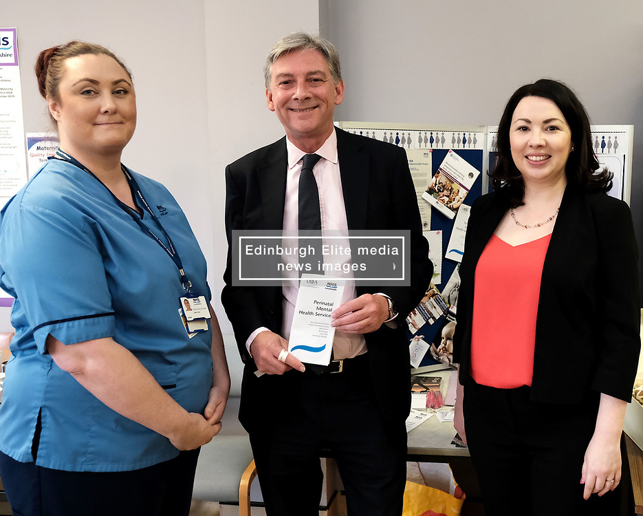 """Scottish Labour leader Richard Leonard and Health spokesperson Monica Lennon met with midwives in NHS Lanarkshire, ahead of a Scottish Labour debate which calls on the SNP Government to invest an additional £10 million for the implementation of Best Start and to investigate claims that midwives are not being given sufficient resources to do their jobs.<br /> <br /> Scottish Labour will use parliamentary time this week to call on the SNP Government to investigate reports that midwives do not have enough resources to do their jobs safely.<br /> <br /> Concerns have been raised in an open letter by midwives in NHS Lothian, which claim they do not have enough computers, equipment and pool cars.<br /> <br /> Scottish Labour have also called for an additional £10 million to be allocated towards the implementation of the Best Start recommendations, to ensure that midwives are given adequate time, training and resources.<br /> <br /> Scottish Labour Health Spokesperson Monica Lennon said:<br /> <br /> """"Midwives play a crucial role in caring for women and babies. The best way of recognising their contribution to our NHS is by making sure they have enough resources to do their jobs safely.<br /> <br /> """"That's why Scottish Labour is calling on the SNP Government to investigate reports about a lack of equipment and resources, and to provide an additional £10 million towards the implementation of the Best Start recommendations.<br /> <br /> """"The Health Secretary must listen to the concerns of midwives and take urgent action to address the workforce crisis.""""<br /> <br /> Pictured: Richard Leonard and Monica Lennon chat to midwife Elaine Daly<br /> <br /> Alex Todd 