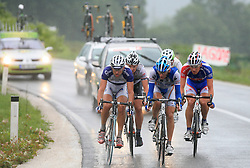 Escape group (at right Jure Zrimsek of Slovenia (Adria Mobil)) during 3rd stage of the 15th Tour de Slovenie from Skofja Loka to Krvavec (129,5 km), on June 13,2008, Slovenia. (Photo by Vid Ponikvar / Sportal Images)/ Sportida)