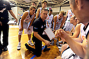 Head coach, Andrej Lemanis<br /> New Zealand Breakers vs Melbourne Tigers<br /> Basketball- NBL Semi Finals Game 1<br /> Melbourne / Weds 25 Feb 2009<br /> © Sport the library / Jeff Crow