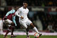 Daniel Sturridge of Liverpool in action. The Emirates FA cup, 4th round replay match, West Ham Utd v Liverpool at the Boleyn Ground, Upton Park  in London on Tuesday 9th February 2016.<br /> pic by John Patrick Fletcher, Andrew Orchard sports photography.