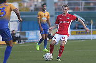 Taylor Maloney of Charlton Athletic (36) during the The FA Cup match between Mansfield Town and Charlton Athletic at the One Call Stadium, Mansfield, England on 11 November 2018.