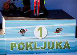 Feature during Men 12,5 km Pursuit at day 3 of IBU Biathlon World Cup 2015/16 Pokljuka, on December 19, 2015 in Rudno polje, Pokljuka, Slovenia. Photo by Vid Ponikvar / Sportida