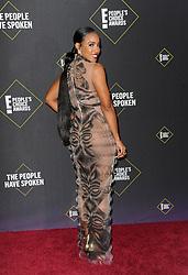 Kelly Rowland at the 2019 E! People's Choice Awards held at the Barker Hangar in Santa Monica, USA on November 10, 2019.