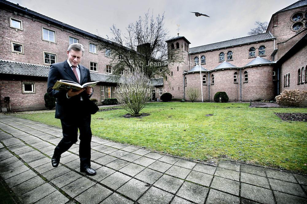 Nederland,Zeist ,21 januari 2008...Matthijs Boeser, econoom, die per 1 oktober klok in het aartsbisdom heeft opgevolgd als econoom.