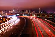 500px Photo ID: 4411071 - 280 freeway into san francisco, long exposure